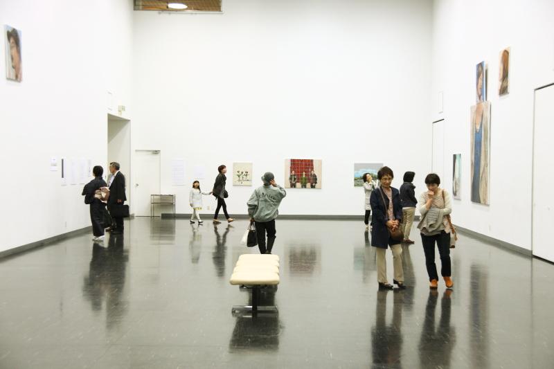 服部篤浩展会場06